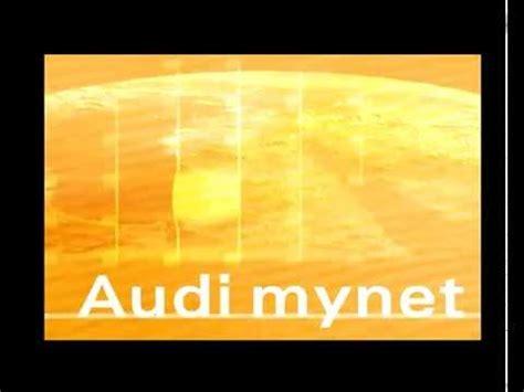 My Net Audi by Trailer Quot Mynet Quot Audi Ag Youtube