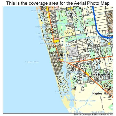naples florida map aerial photography map of naples fl florida