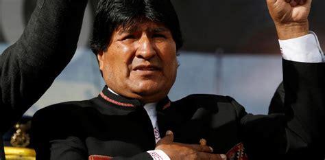 evo morales bolivian president has quot benign tumor quot in according