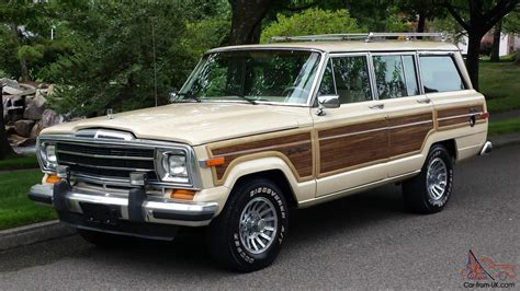 jeep wagoneer 1989 1989 jeep grand wagoneer base sport utility 4 door 5 9l