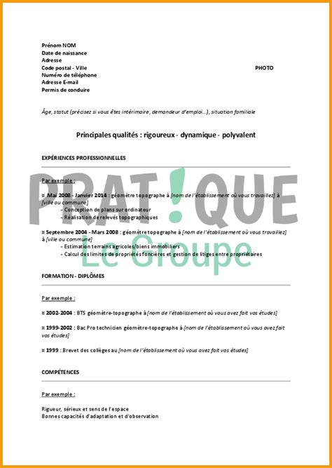 Lettre De Motivation De Operateur De Production exemple cv de production