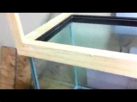 aquarium hood design diy diy 125 gallon aquarium canopy youtube