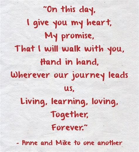 Wedding Vows For Couples by 25 Melting Real Wedding Vow Ideas To Make You