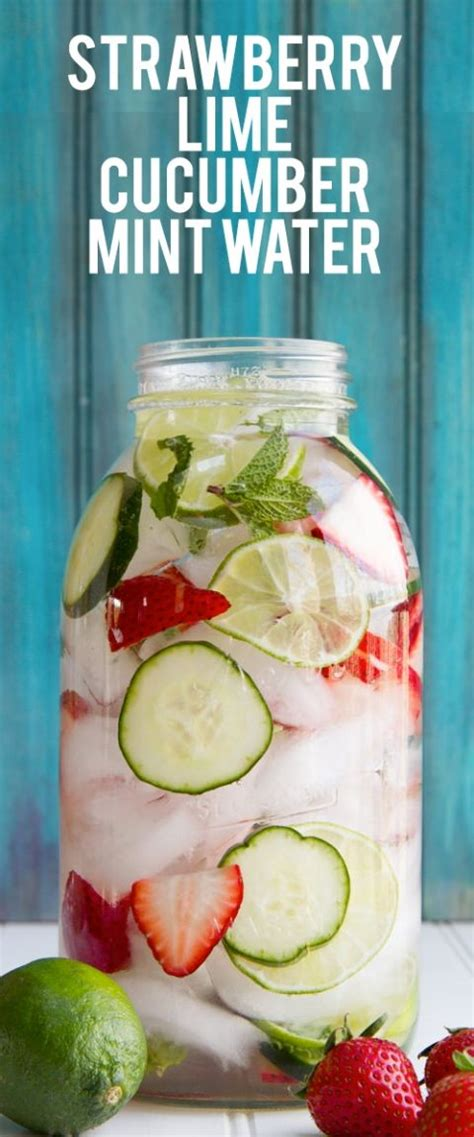 Mint Cucumber Detox Water by 17 Best Ideas About Mint Water On Strawberry