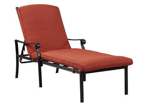orange chaise lounge cushions rick s furniture starkville ms tanglevale burnt orange