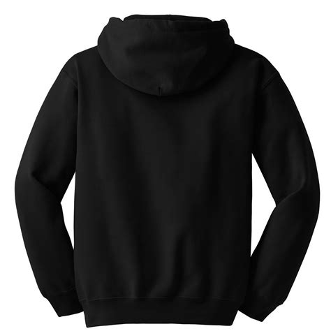 Sweatshirt Black gildan 12500 dryblend pullover hooded sweatshirt black fullsource