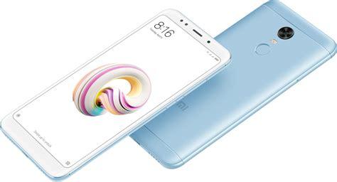 Xiaomi Redmi 5 Plus 4 64 Black Blue Garansi 1 Tahun xiaomi redmi 5 plus global 4gb 64gb cz lte blue r5pgm64