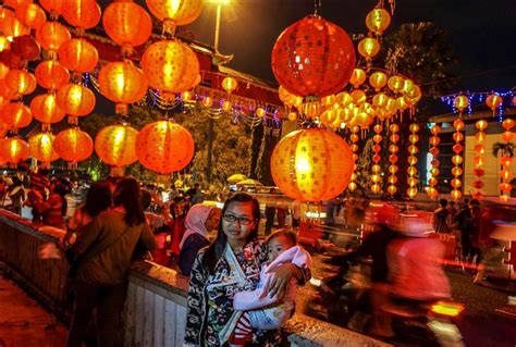 during new year 2015 lantern festival during lunar new year in