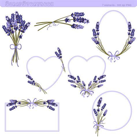 fiori clipart cornice fiore lavanda e clipart illustrazione lavanda
