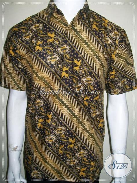 Kemeja Printing Motif Pohon Pria Lengan Pendek Murah baju batik motif parang terkini untuk pria muda dan dewasa