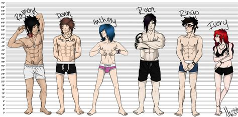 picture height oc height chart by lorilunacy on deviantart