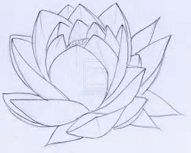 Drawing A Lotus Flower Lotus Tattoos Designs And Ideas Page 10