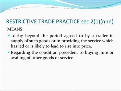 section 13 of consumer protection act consumer protection act 1986