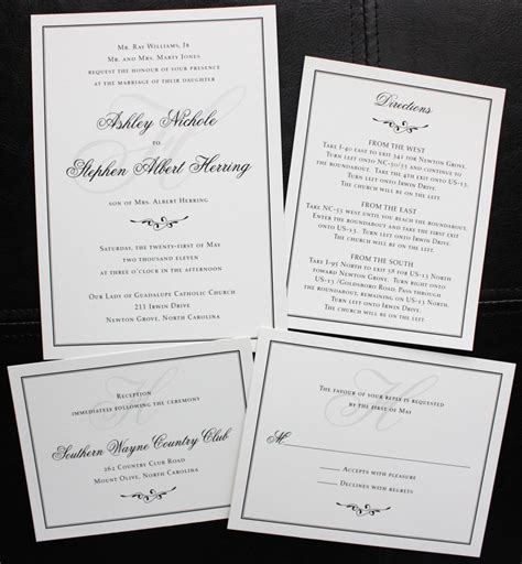 plain wedding invitations 14 dreaded plain wedding invitations you must see theruntime