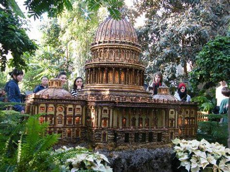 Us Botanic Garden Dc Us Capitol Model During Display Picture Of United States Botanic Garden Washington