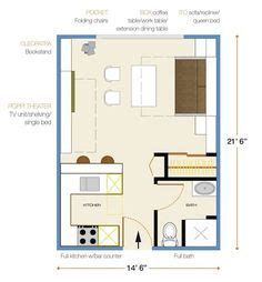 Small House Plans Under 600 Sq Ft Studio Apartments Floor Plan 300 Square Feet Location