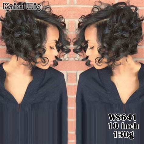 affordable short spike wigs for black women afro short wigs for black women 8 quot short curly wavy black