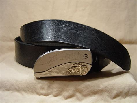belt buckles knife s s leather belts custom cut belts