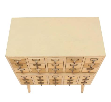 Index Card File Cabinet Outstanding Vintage All Wood Index Card File Cabinet For Sale At 1stdibs