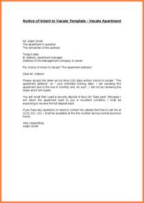 notice to move out template move out letter 30 day notice to landlord template best