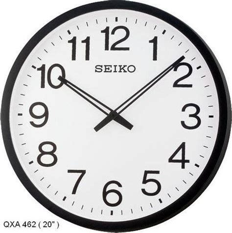 Sale Jam Dinding Seiko Qxa590s office quartz wall clock for sale from selangor petaling