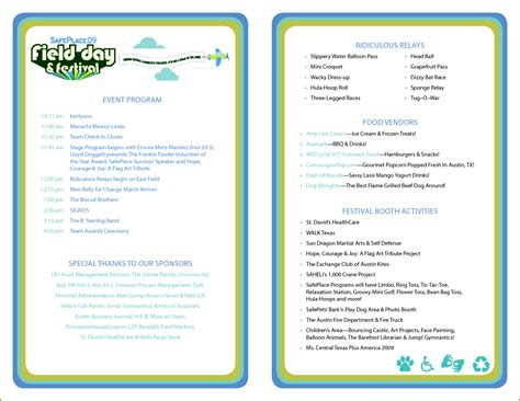 5 Event Program Templates Authorizationletters Org Conference Program Design Template