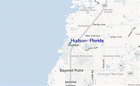 map of hudson florida hudson florida tide station location guide