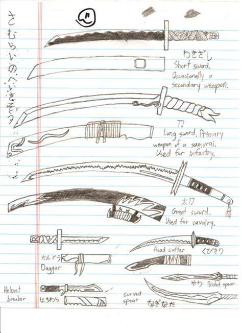 doodlebug weapon doodle samurai weapons by xthai japx on deviantart