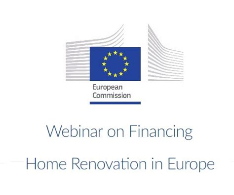 webinar on financing home renovation in europe