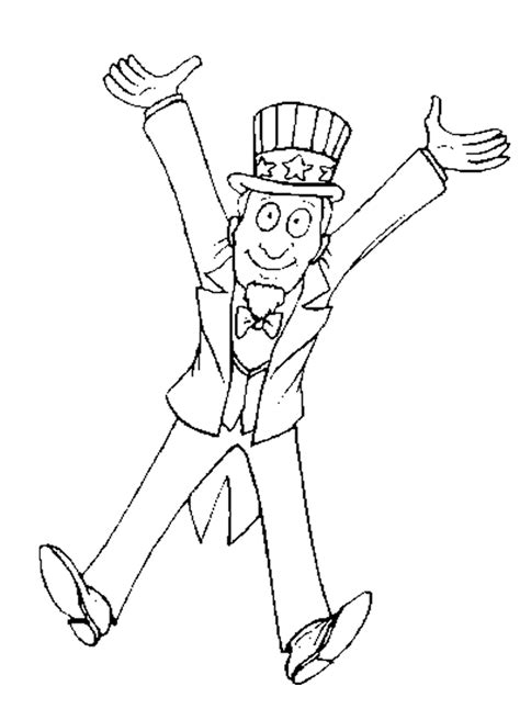 coloring page uncle sam uncle sam coloring pages az coloring pages