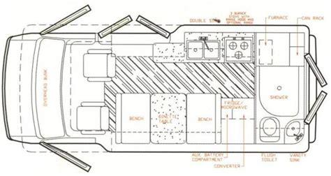 Conversion Van Floor Plans 2003 Roadtrek 190 Floor Plan Trend Home Design And Decor