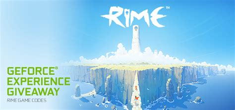 Geforce Giveaway - rime geforce experience giveaway another great game up for grabs geforce