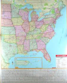 map of the eastern united states eastern us map by universal