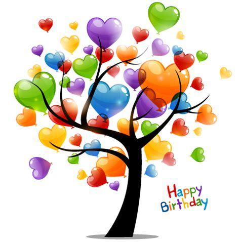 imagenes de cumpleaños con globos arbol con globos para feliz cumplea 241 os dibujos lindos