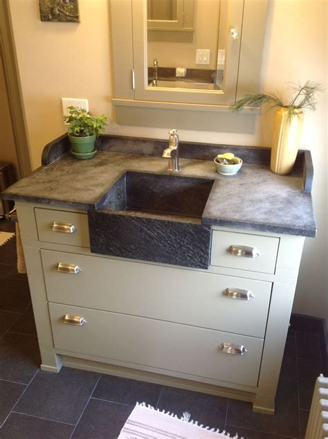 soapstone bathroom sink 17 best images about soapstone sinks countertops on