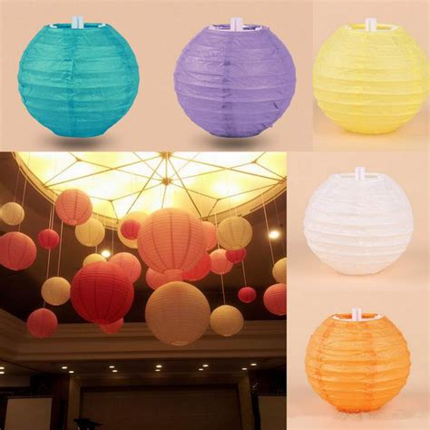 How To Make Rice Paper Lanterns - multi colors option 4inch 10cm japanese mini rice paper