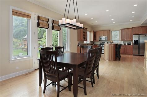 traditional kitchen table pictures of kitchens traditional light wood kitchen