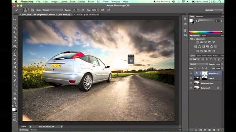 tutorial photoshop cs6 how to blend two pictures together photoshop tutorial merging two images using layer masks