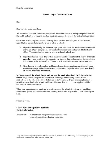 authorization letter for guardian temporary guardianship letter sle bagnas sle
