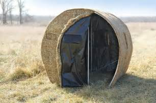 Homemade Portable Duck Blind Plans Building A Diy Bale Blind Can Be As Easy As You Want It To Be