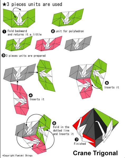 Origami Club Crane - origami crane dipyramid