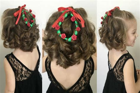 christmas wreath hairstyle for short hair 12 braids of