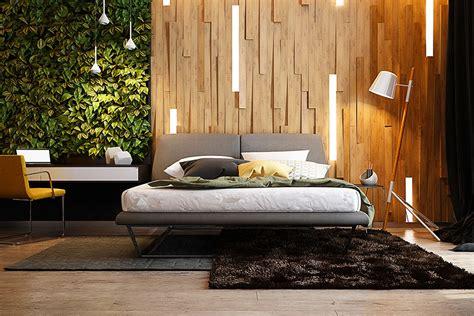 parete per da letto pareti in legno per la da letto 30 idee dal design