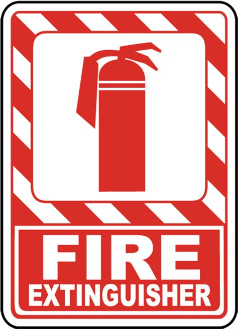 Sign Label Extinguisher extinguisher sign a5038 by safetysign