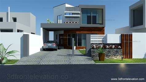 home design for 8 marla 3d front elevation 8 marla house plan layout elevation