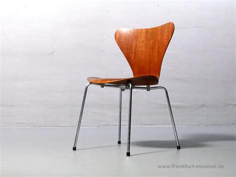 stuhl fritz hansen arne jacobsen for fritz hansen teak chair 3107 1967