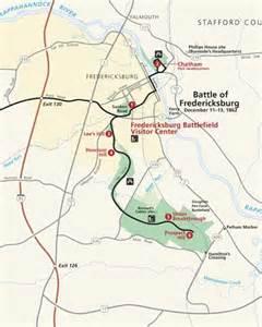 fredericksburg map maps fredericksburg spotsylvania national