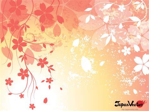 japanese design background sakura japanese cherry blossom free vector background