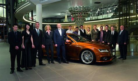 Studieren Bei Audi by 159 Junge Menschen Beenden Ihre Ausbildung Bei Audi Auto