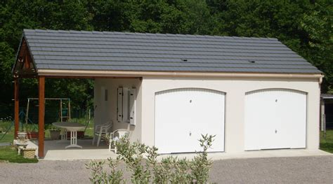 garagen beton garages pr 233 fabriqu 233 s en b 233 ton et b 233 ton aspect bois sur mesure
